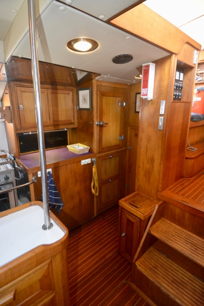 Galley looking starboard aft.