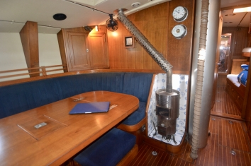Saloon looking port and forward