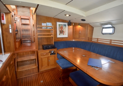 Saloon looking aft and port