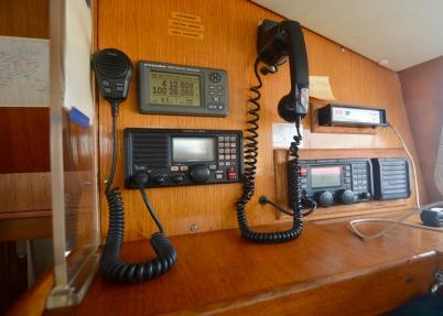 VHF, GPS, SSB and Pactor Modem