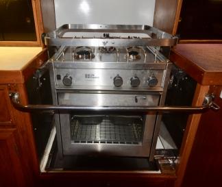 New GN Espace Levant 3 burner cooker