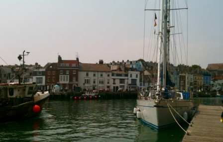 Weymouth Harbour, England